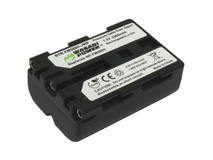 Wasabi Power Battery for Sony NP-FM500H