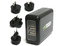 Wasabi Power Dual USB Wall Charger