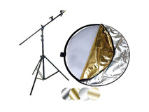 "Impact 42"" 5-in-1 Reflector with Lightstand and Holder Kit"