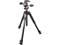 Manfrotto MT055XPRO3-3W Aluminum Tripod with 3-Way Head