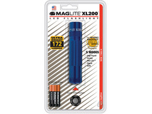 Maglite XL200 LED Flashlight with 3 AAA Blister Pack (Blue)