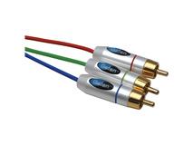 Gefen CAB-CMP-06MM 3 RCA Component Cable (6')