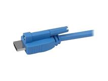 Gefen CAB-HDMI-LCKB-15MM HDMI Locking Cable - Black (15')