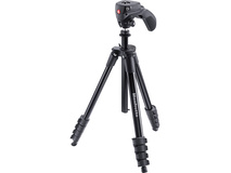 Manfrotto Compact Action Aluminium Tripod (Black)