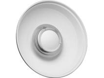 "Hensel 22"" ACW White Beauty Dish Reflector"