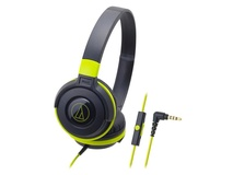 Audio Technica ATH-S100IS Headphones (Green)