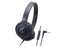 Audio Technica ATH-S100iS Headphones (Black)