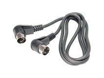 Hosa MID-303RR MIDI Cable 3ft (angled)