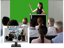 """Draper Silhouette/Series M Square Format Manual Front Projection Screen (96 x 96"""")"""
