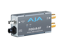 AJA FiDO-R-ST SDI/Optical Fiber Mini-Converter
