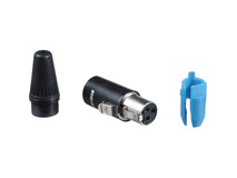 Neutrik RT3FC-B 3-Pole TINY XLR Female Cable Connector (TA3F)