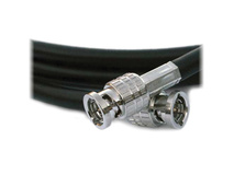 Canare HD-SDI Flexible Coaxial Cable with BNC Connectors (50' / 15.24 m)