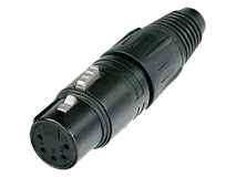 Neutrik NC5FX-B 5-Pole XLR Female Cable Connector