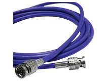 Canare 3' L-3CFW RG59 HD-SDI Coaxial Cable with Male BNCs (Blue)