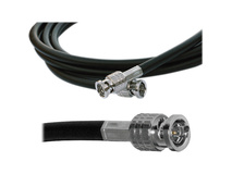Canare HD-SDI Video Coaxial Cable - BNC to BNC Connectors - 1'
