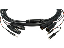 Canare Breakaway Cable for Portable Mixers with Monitor Output 15'