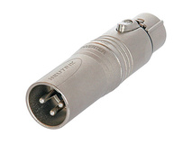 Neutrik NA3M5F 3 Pole XLR Male to 5 Pole XLR Female Adapter
