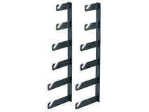 Manfrotto 045-6 Background Holder Hooks for 6 Backgrounds - Wall Mountable (Set of 2)