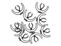 Rycote - Pack of 10 Universal Standard Lyres (Black)