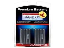 Delkin ENEL3E Batteries (2pk)