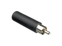 Hosa GPR-104 1/4'' to RCA Adapter