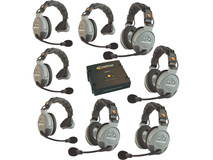 Eartec COMSTAR XT-8 8-User Full Duplex Wireless Intercom System