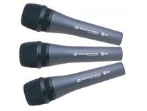 Sennheiser E835 Dynamic Vocal Microphone (Set of 3)