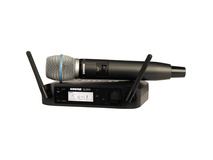 Shure GLXD24/Beta87A Handheld Wireless System Z2 Band (2400 - 2483.5 MHz)
