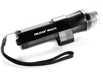 Pelican Mitylite 2430 Flashlight 4 'AA' Xenon Lamp - Water Resistant (Black)