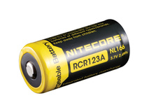 NITECORE NL166 Li-Ion Rechargeable Battery RCR123A (3.7V, 650mAh)