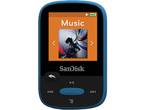 SanDisk 8GB Clip Sport MP3 Player (Blue)