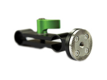 Lanparte Double 15mm Rod Clamp with ARRI Rosette Lock