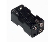 AA Size Battery Holder Box 6 Volts