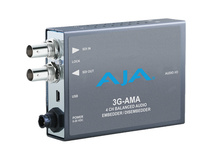 AJA 3G-AMA 3G-SDI 4-Channel Analog Audio Embedder/Disembedder Mini-Converter