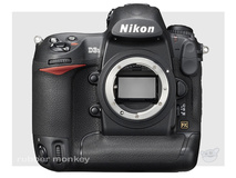 Nikon D3S Body Including Lexar CF8GB 300X Memory Card