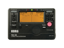 Korg TM-50 Combination Tuner & Metronome (Black)
