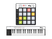 IK Multimedia iRig Keys and Pads for iOS, Mac, PC