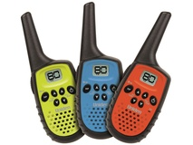 Uniden UH35-3 UHF Triple Colour Pack Handheld Radio