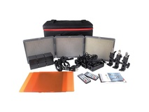 Aputure Amaran HR672 3-Point (2-Daylight Spot, 1-Bi-Colour Flood)  3-Light Kit