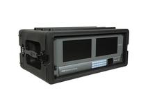 SKB 4U Roto Shallow Rack Case with Steel Rails (1SKB-R4S)