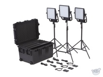 Litepanels Astra EP 1x1 Bi-Colour LED Traveler Trio V-Mount Kit