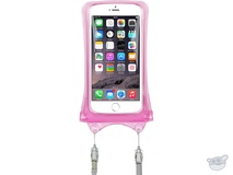 DiCAPac Waterproof Case for Smartphones (Pink)