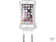 "DiCAPac Waterproof Case for Smartphones up to 5.7"" (White)"