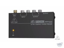 Behringer Ultra-Compact Phono Preamp PP400
