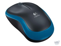 Logitech M185 Wireless Mouse (Blue)