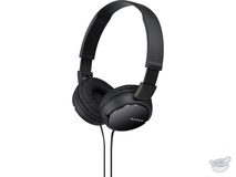 Sony MDR-ZX110 Stereo Headphones (Black)