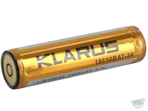 Klarus 18650 KB34 Li-Ion Rechargeable Smart Battery (3.7V, 3400mAh)
