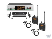 Sennheiser EW 300-2 IEM G3 Wireless Stereo Audio Monitoring System