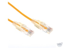 Dynamix 1M Cat6 Slimline Component Level UTP Patch Lead (Yellow)