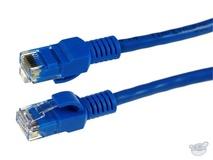 Dynamix 7.5M Cat5E CCA UTP Patch Lead (Blue)